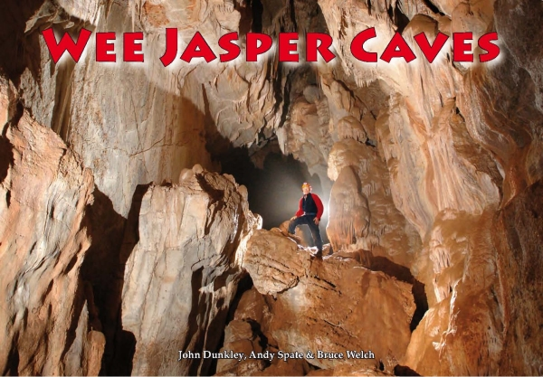 Cover photo Wee Jasper Caves book